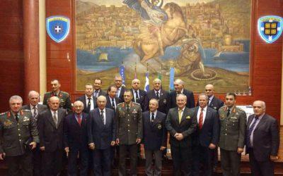 Κοπή πίτας της Πανελλήνιας Ομοσπονδίας Ειδικών Δυνάμεων