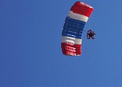 Licensed Skydivers